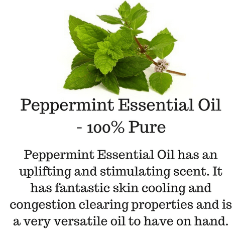 Peppermint-Essential-Oil-100%-Pure
