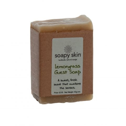 Natural Handmade Lemongrass Guest Soap