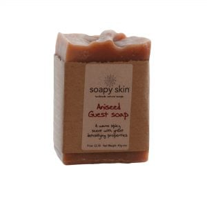Natural Handmade Aniseed Guest Soap