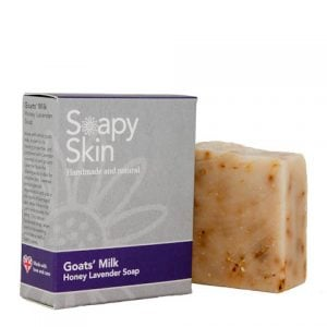 Goats Milk honey Lavender soap Wrapped and Unwrapped